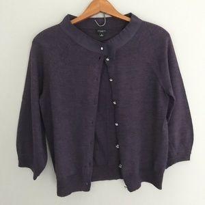 Women's Size Small Purple Ann Taylor Sweater